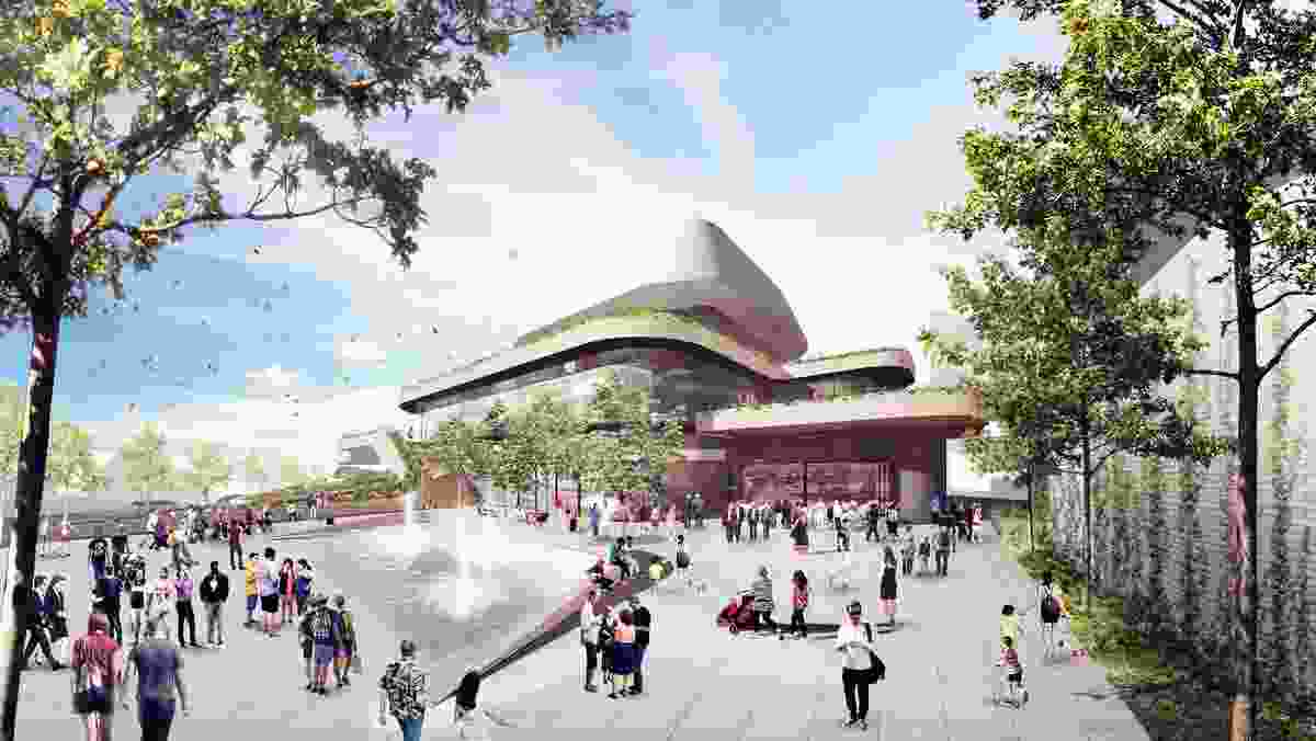 The New Heart of Ryde by Plus Architecture.