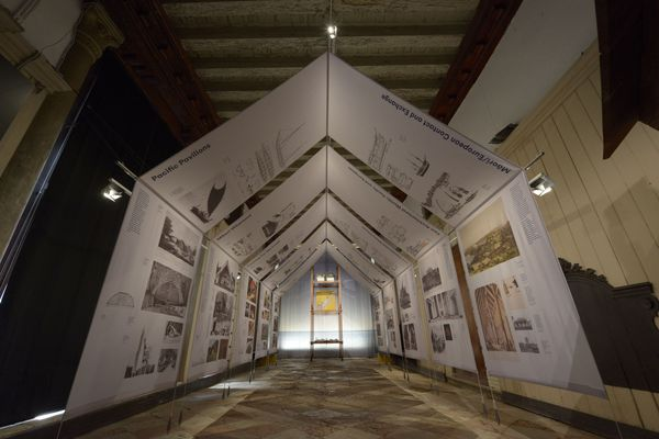 The New Zealand exhibition at the 2014 Venice Architecture Biennale.