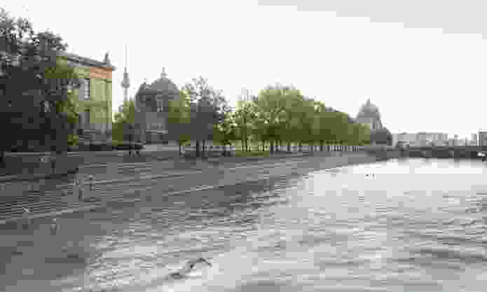 The proposed Flussbad (river pool) by Realities United.