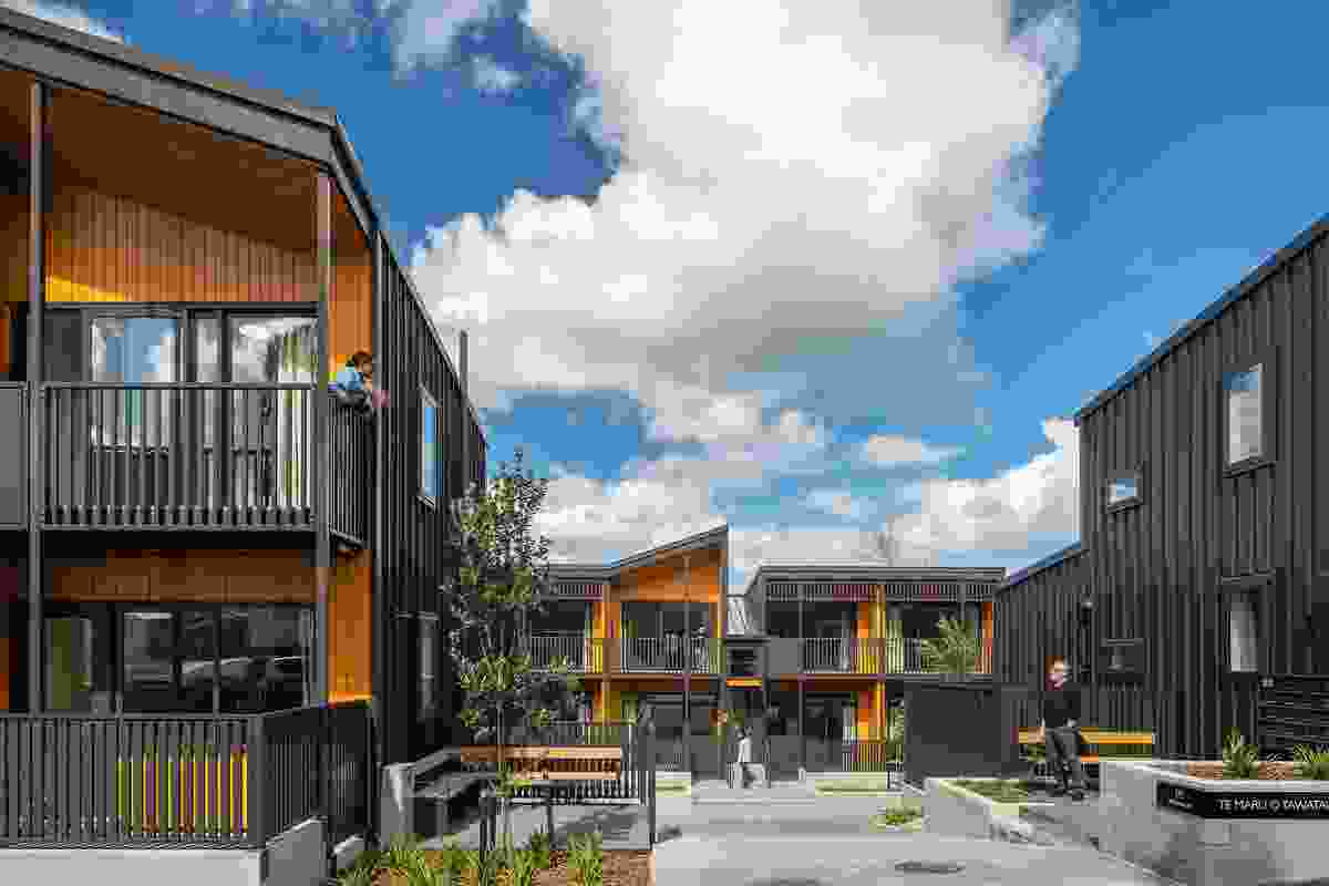 Finalist: Housing Multi-unit – Te Maru o Tawatawa by Studio Pacific Architecture.