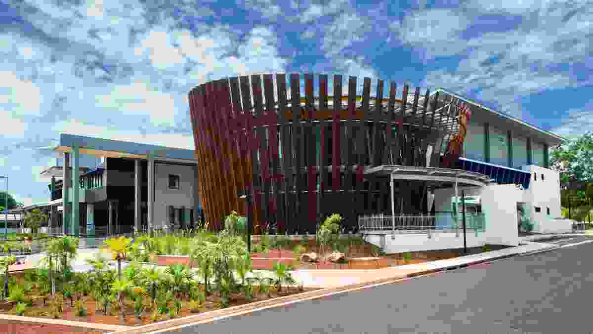 Australian Centre of Indigenous Knowledge and Education (ACIKE) by DKJ projects.architecture.