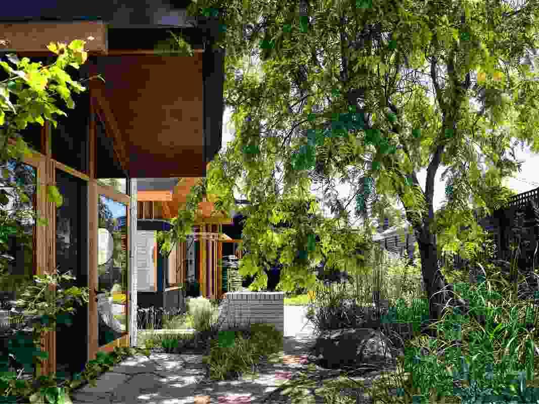 The client's love of landscape has earned Garden House its apt moniker.