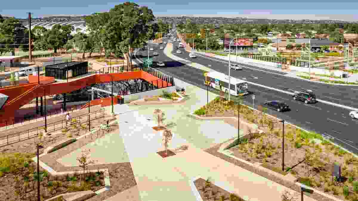 Oaklands Crossing Grade Separation Project by Aspect Studios and Cox Architecture took out the Award of Excellence in the Infrastructure category.
