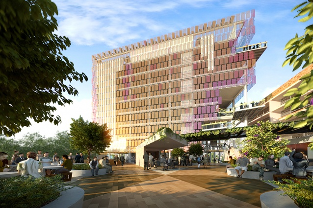 Lovely The Proposed Sustainable Futures Building Designed By Lyons And M3  Architecture.