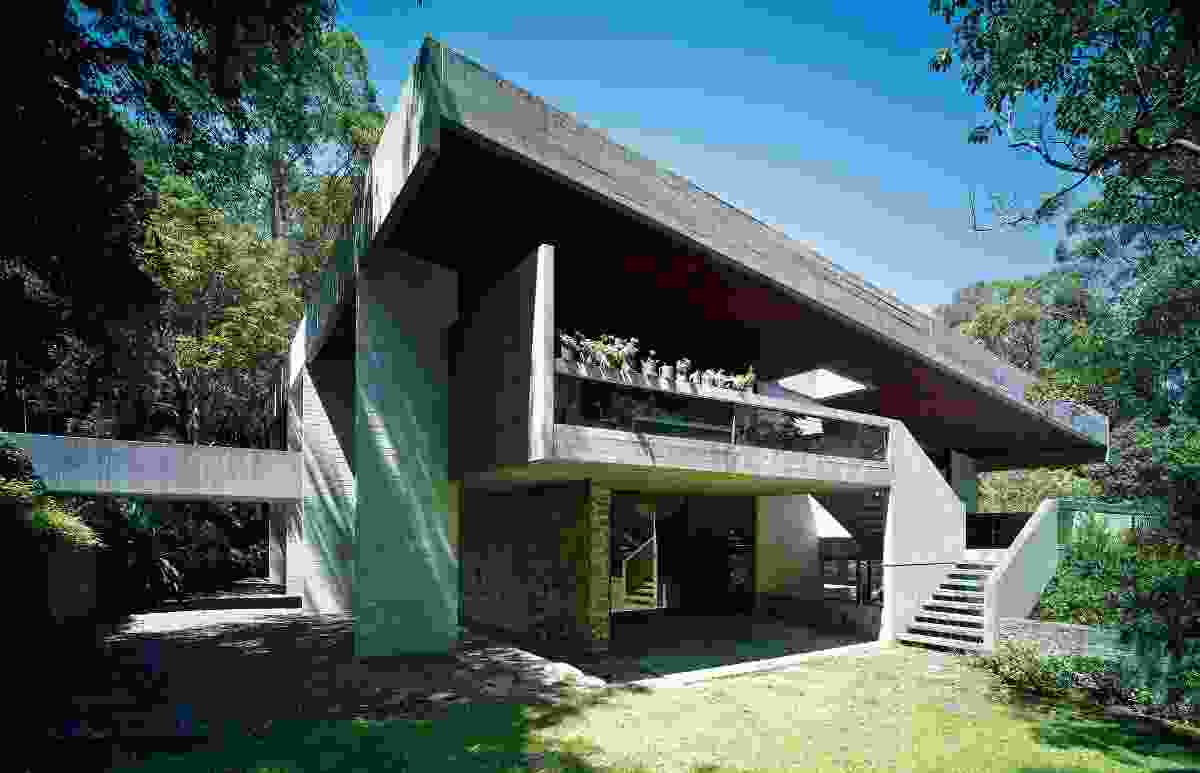 The Seidler House, Killara by Harry Seidler.