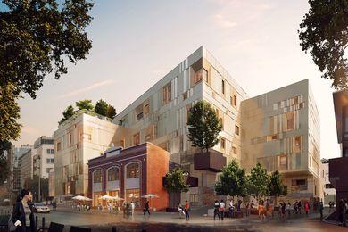 塔斯马尼亚大学的文化和表演艺术中心,河南,由纯恒星工作室和威霍设计。
