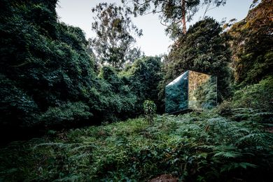 Kangaroo Valley Outhouse by Madeleine Blanchfield Architects.
