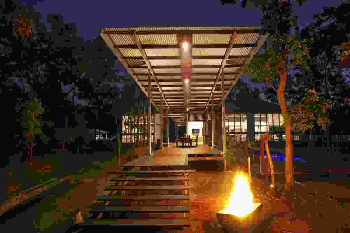 Bush Verandah House, Girraween, NT, 2010.