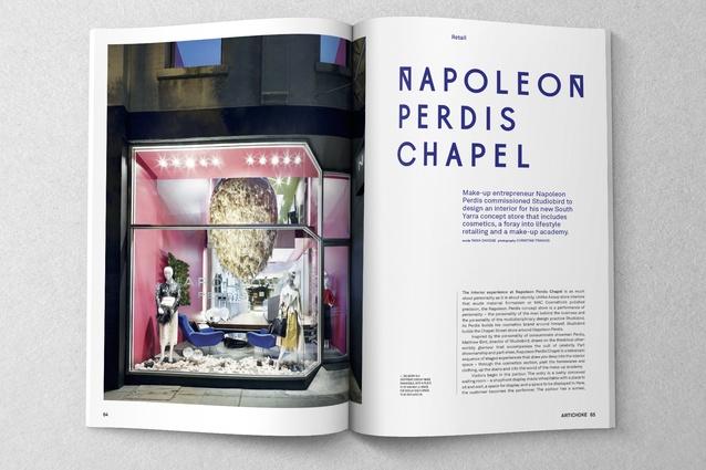 Napoleon Perdis Chapel by Studiobird.