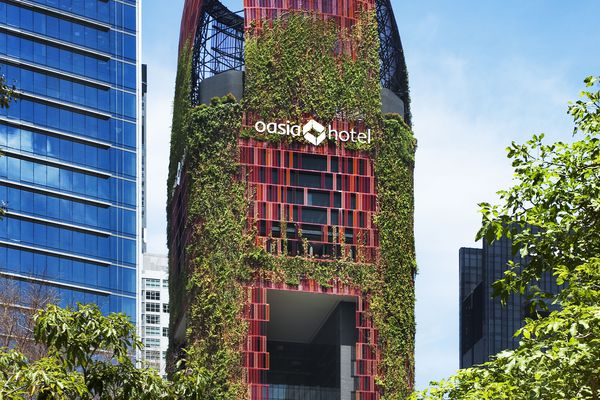 Oasia Hotel Downtown by WOHA.