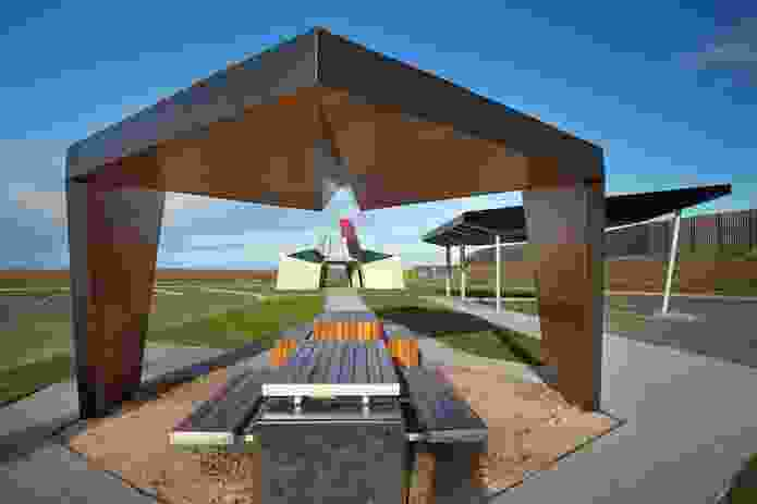 Geelong Ring Road Rest Areas (Vic) by BKK Architects.