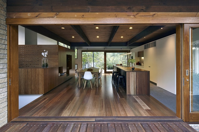 House in the Woods by Wilson Architecture.