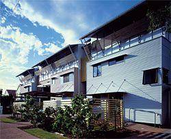 Cotton Tree Pilot Housing.Image: Richard Stringer.