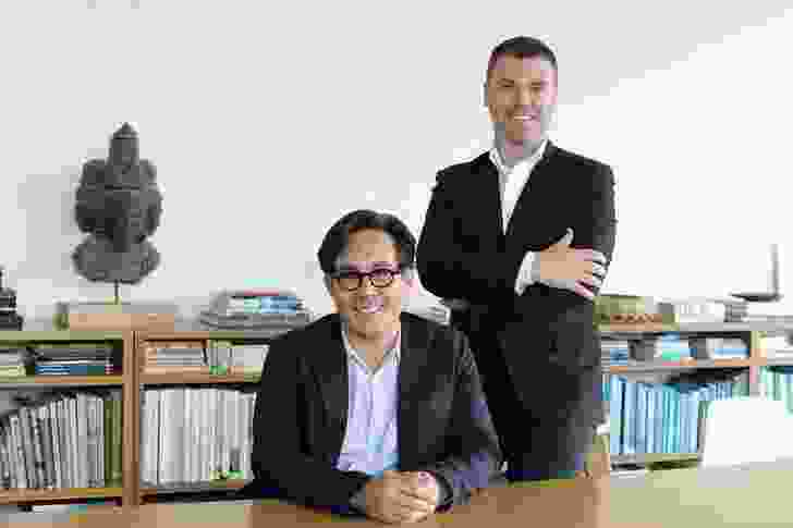 Matthew Shang and Paul Semple of Distillery.