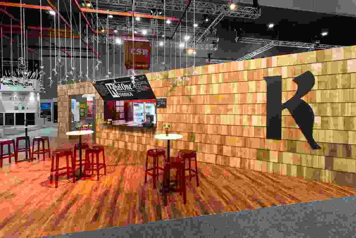 Ketel One Vodka Bar, DesignEX 2013 by UNO + 6 Hats.