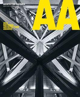 Architecture Australia, November 2014