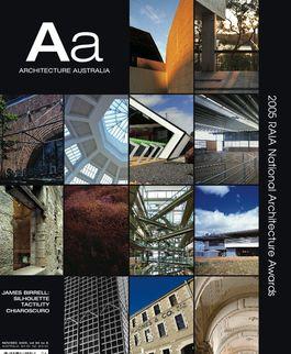 Architecture Australia, November 2005