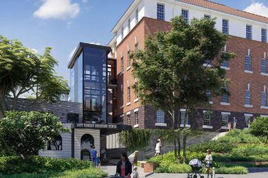 The proposed redevelopment of Edith Cavell building by Elevation Architecture.