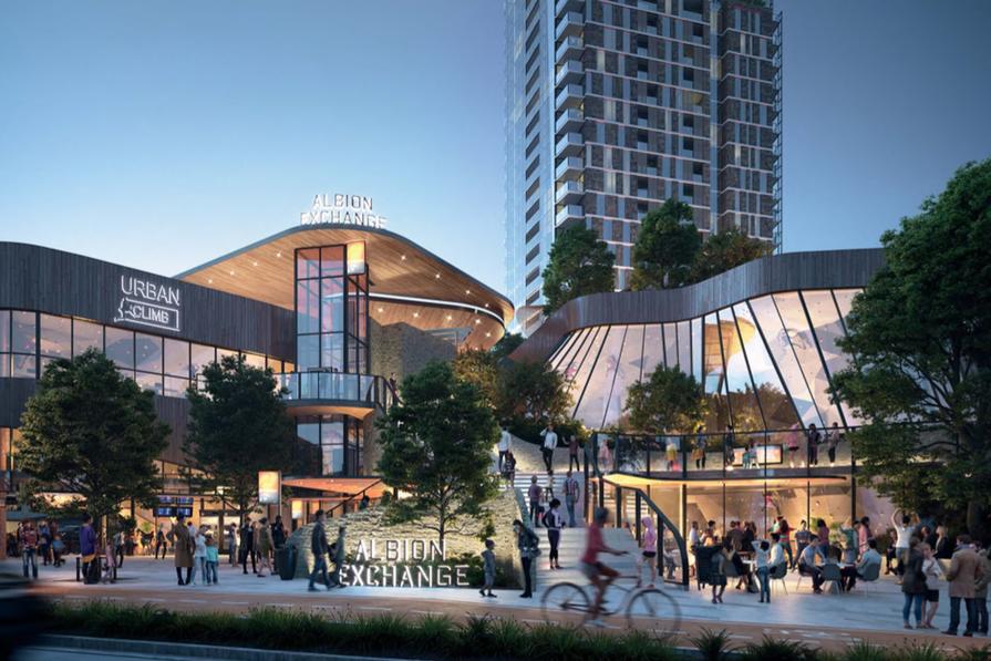 Albion Exchange, designed by Hames Sharley.