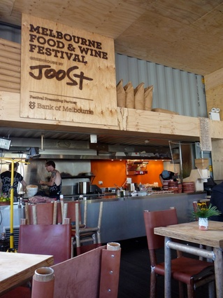 Greenhouse by Joost at the Melbourne Food and Wine Festival.