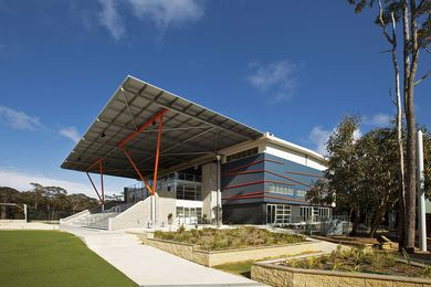 Northern Beaches Christian School by Jones Sonter Architects.