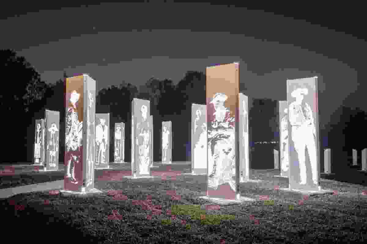 Forest of Memories by Logan City Council.