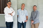 Robert Riddel, Geoff Cook and David Gole of Riddel Architecture