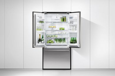 The 900 mm French Door fridge.