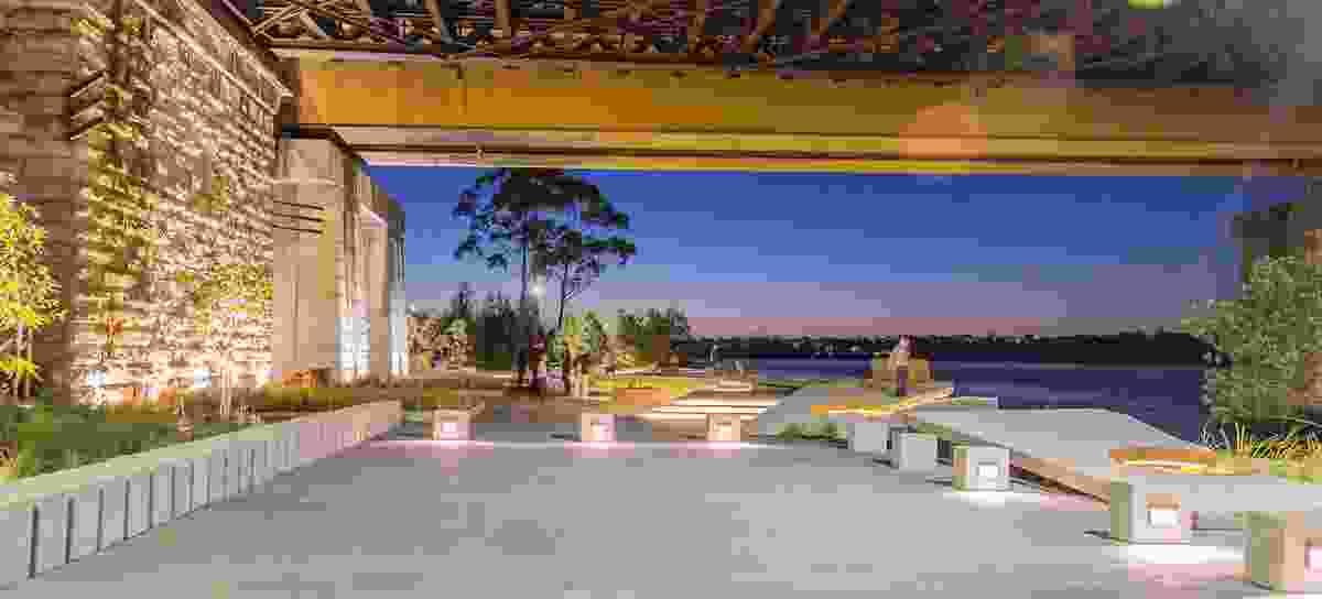 John Whitton Bridge Open Space by Oculus.