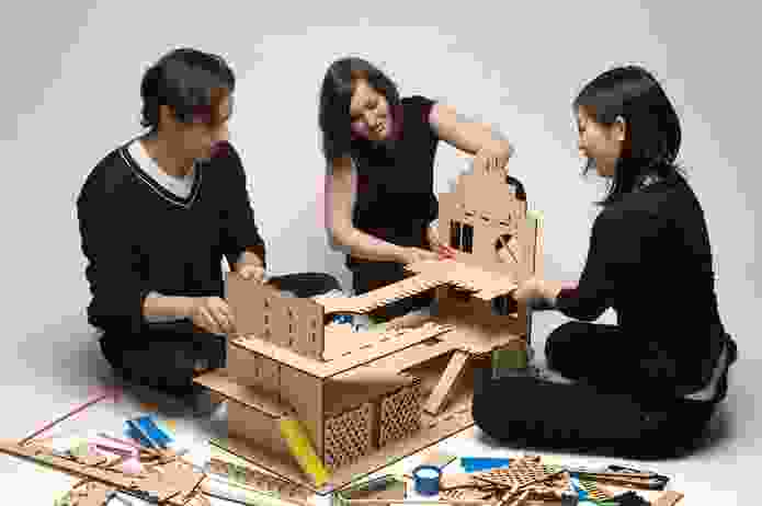 KIDs' energy house, a prototype for a Doll's house that educates about sustainable living.