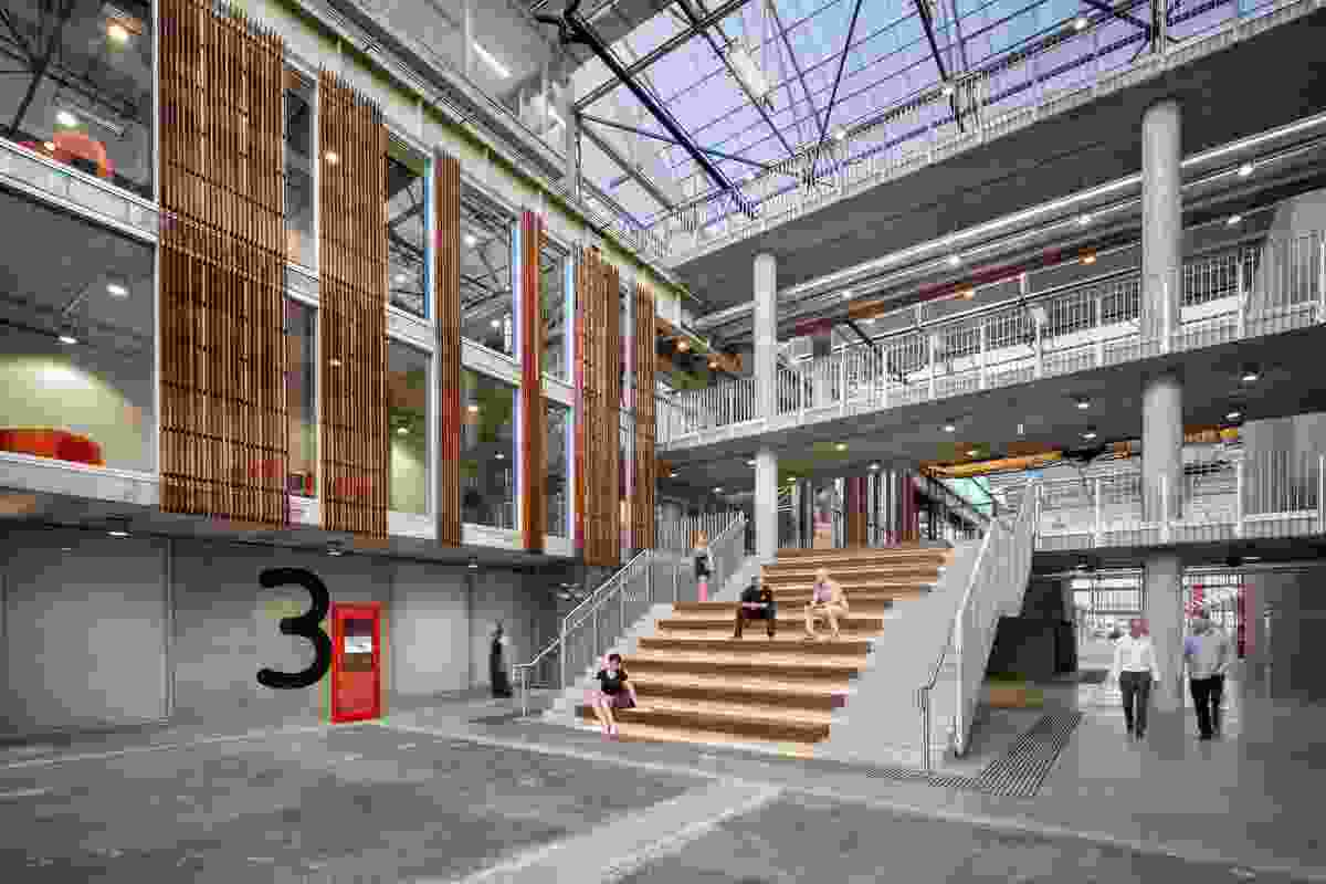 Sustainable Industries Education Centre by MPH Architects.