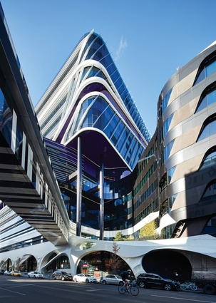 Air bridges provide direct links from the VCCC to the Royal Melbourne Hospital.
