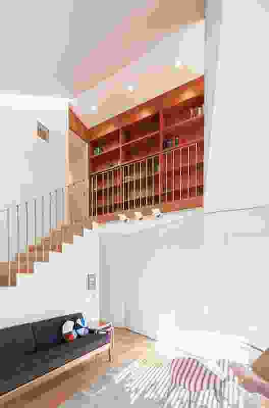 Spaces in House 1 unfold as you move through.