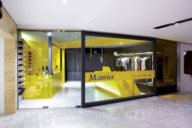 Retail Design – Maurice Dry Cleaners by Snell.