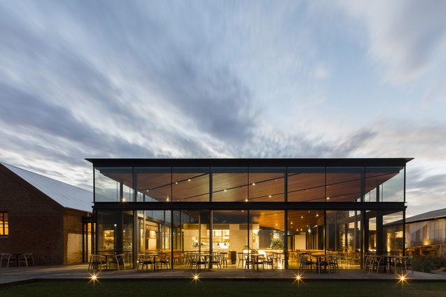Glasshouse at Goonoo Goonoo Station by TKD Architects.