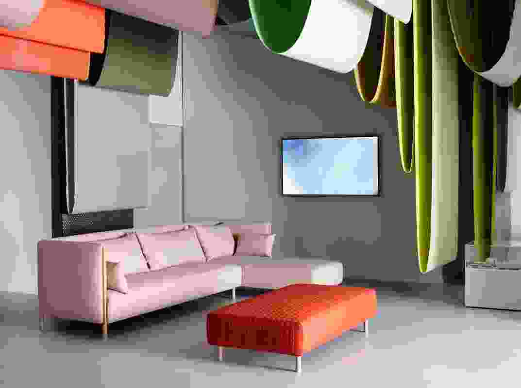 Colour Form Sofa Group by Scholten and Baijings for Herman Miller and Maharam.