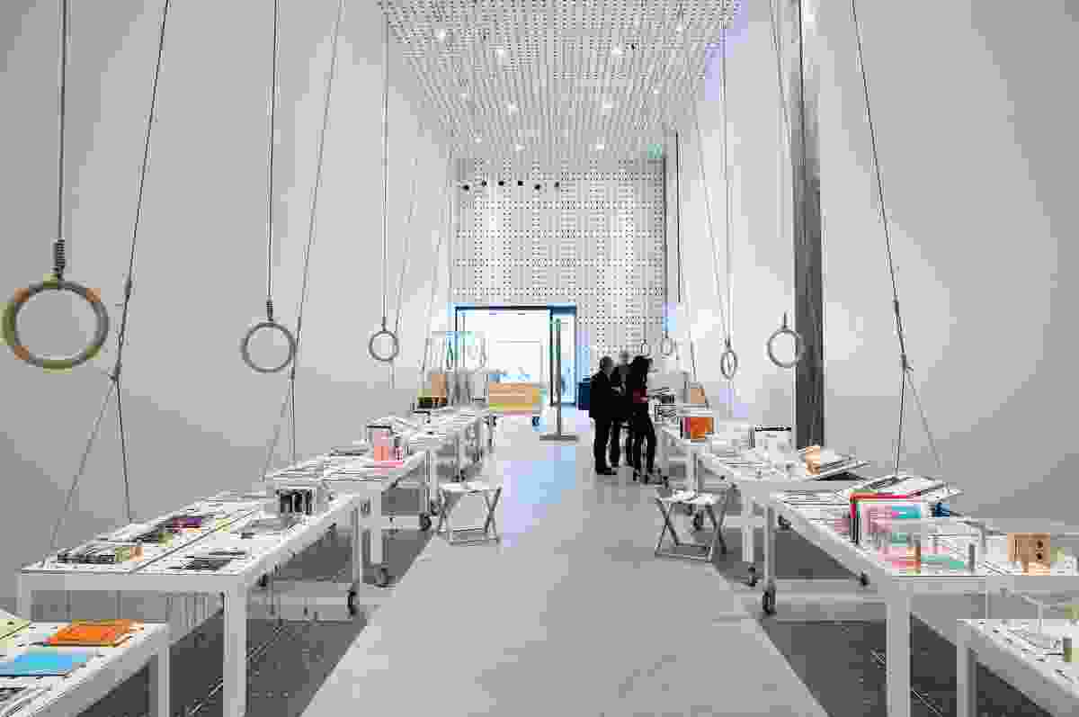 Public Offer exhibition space, designed by Sibling in 2013.