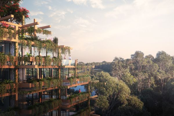 One Sydney Park by MHN Design Union, Silvester Fuller, Sue Barnsley Design and Make Architects.