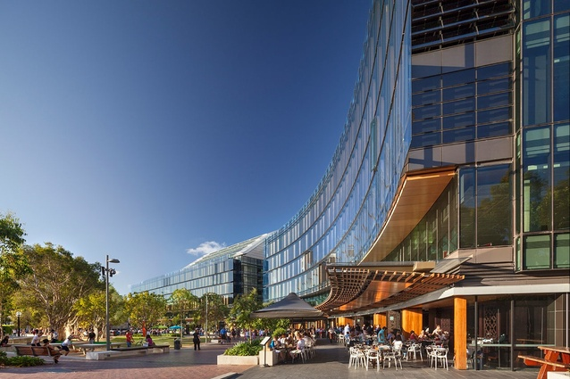 Darling Quarter by Francis-Jones Morehen Thorp (fjmt) with Aspect Studios & Lend Lease.