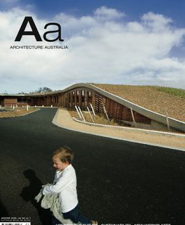 Architecture Australia, January 2005