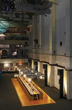 Overview of the Eat Green Design installation at Sydney's Powerhouse Museum.