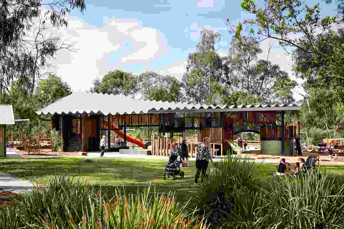 Eltham North Adventure Playground – Gardiner Architects with Jeavons Landscape Architects.
