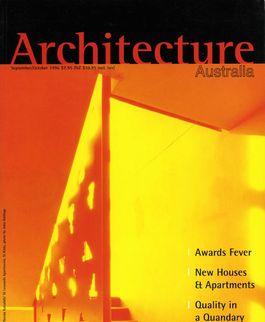 Architecture Australia, September 1996
