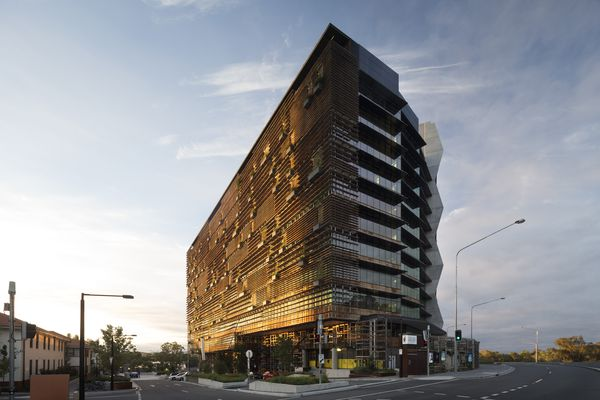 NewActon Precinct by Fender Katsalidis Architects was the most awarded project at the 2015 ACT Architecture Awards.