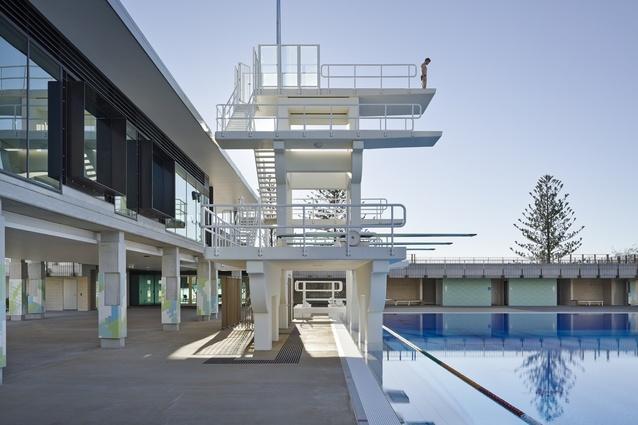 Gold Coast Aquatic Centre by Cox Architecture.