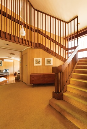 Timber detailing gives the interior a feeling of richness and vibrancy.
