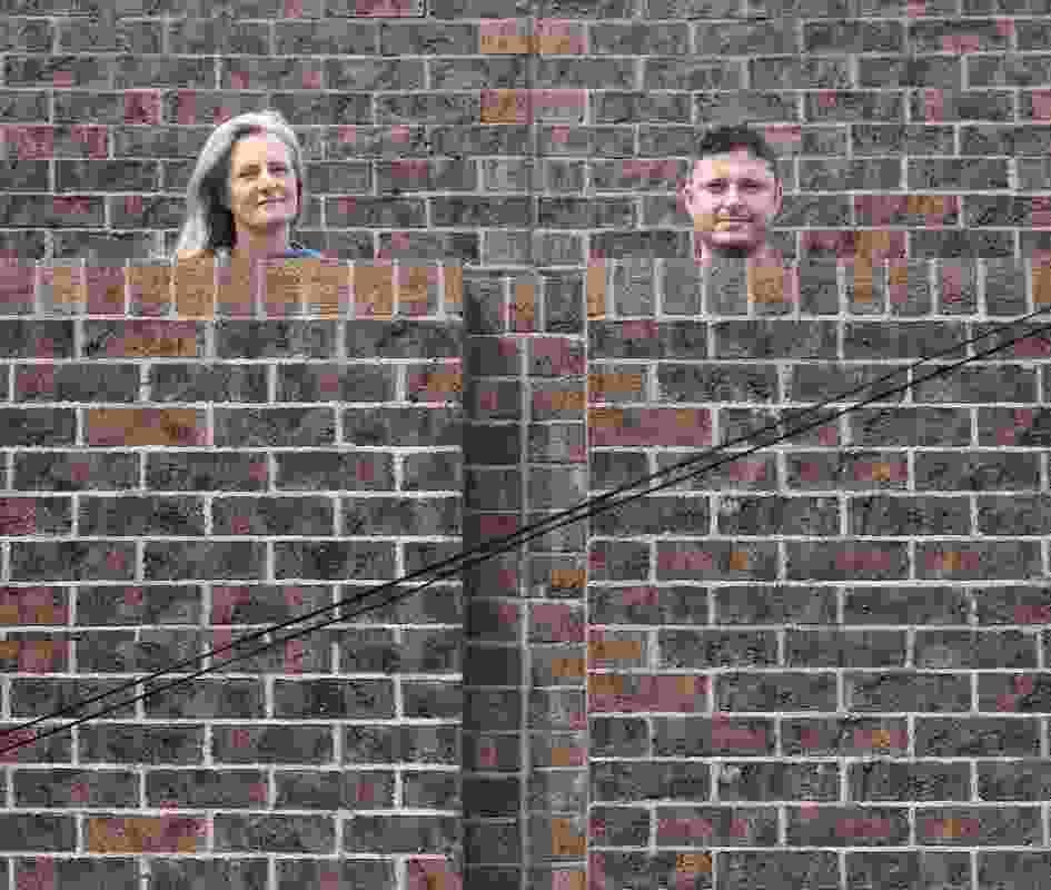 Genevieve and Chris de Campo of de Campo Architects.