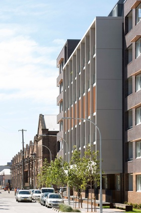 North Eveleigh Affordable Housing by Architectus.