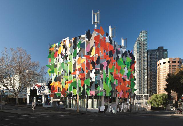 Studio505's Pixel building in Melbourne.