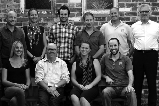 The First Prize winning team of Ecoscape Aust (Fremantle).
